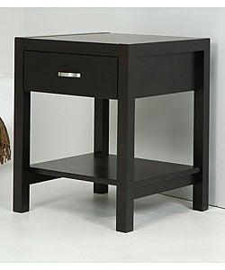Axium Espresso 1-drawer Nightstand