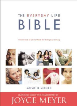 The Everyday Life Bible: Burgundy Bonded Leather, Gilded Gold Page Edges, Ribbon Marker, Containing the Amplified... (Paperback)