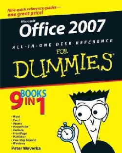 Office 2007 All-in-one Desk Reference for Dummies (Paperback)
