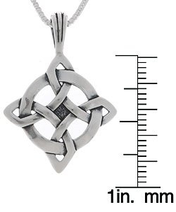 CGC Choice of Sterling Silver Celtic Luck Necklaces