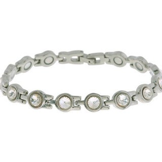 Magnetic Bracelet with Crystals