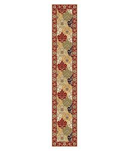 Safavieh Lyndhurst Collection Oriental Multicolor/ Red Runner Rug (2'3 x 12')