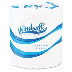 Windsoft 4 1/2-inch Length Facial Quality Toilet Tissue 500 Sheets per Roll (Case of 96)