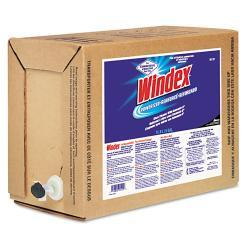 Windex Powerized Formula in 5 Gallon Bag-in-Box Dispenser
