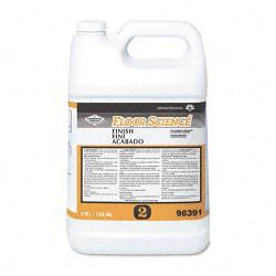 Science System One Gallon Professional Floor Finish (Pack of 4)