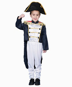 Colonial General Dress-up Costume Set