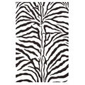 Hand-tufted Zebra Stripe Wool Rug (8' x 10'6)