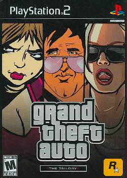 PS2 - Grand Theft Auto: The Trilogy