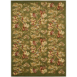 Safavieh Lyndhurst Collection Floral Sage Rug (8' x 11')