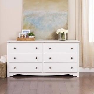 Winslow White 6-drawer Dresser