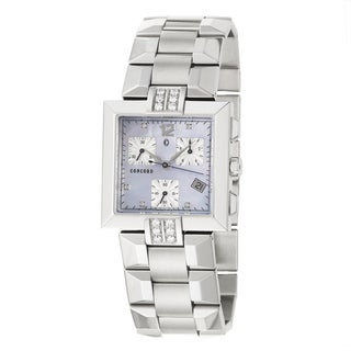 Concord La Scala Women's Blue Dial Steel Watch