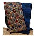 Handmade Blue or Rose Guatemalan Patchwork Quilt (Guatemala)