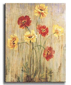 Poppy Serenade by Liz Jardine Stretched Canvas Art