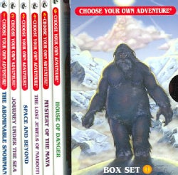 Choose Your Own Adventure: The Abominable Snowman/Journey Under the Sea/Space and Beyond /The Lost Jewels of Nabo... (Paperback)