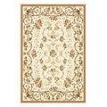 Safavieh Lyndhurst Collection Floral Ivory Rug (5'3 x 8'3)