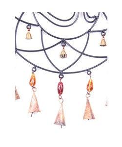 Handmade Iron Om Wind Chime (India)