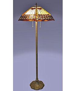 Amberjack Tiffany Floor Lamp