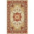 Safavieh Lyndhurst Collection Oriental-Pattern Ivory/Red Rug (5'3