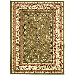 Safavieh Lyndhurst Collection Sage/ Ivory Rug (8' x 11')