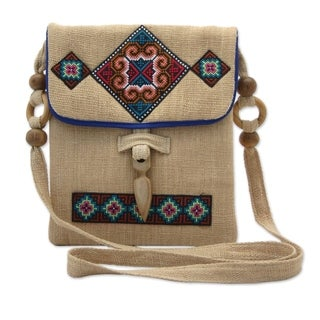 Miracle Earth Hemp Shoulder Bag (Thailand)