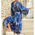 Through the Seas Women's Batik Robe (Indonesia)