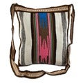Multi Color Wool Shoulder Bag (Peru)