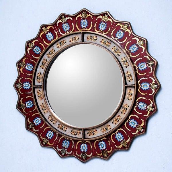 Ruby Medallion Mirror (Peru)