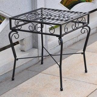 International Caravan Tropico Iron Side Table