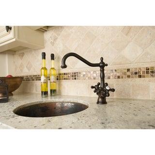 Oil-rubbed Bronze Kitchen Faucet