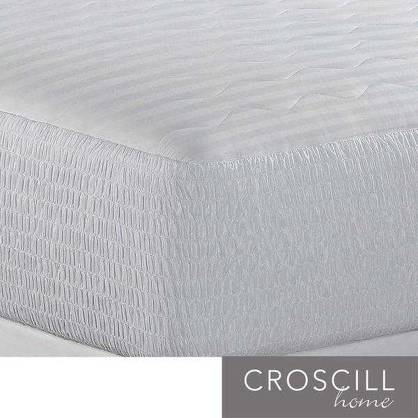 Croscill 500 Thread Count Egyptian Cotton Mattress Pad