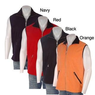 SDI Men's Full Zip Microfleece Vest
