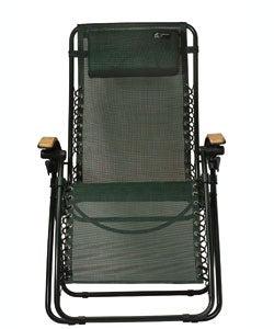TravelChair Lounge Lizard Green Folding Recliner Chair