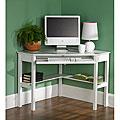 White Birch Corner Desk