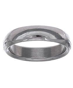 Men's Tungsten Carbide Dome Wedding Band (5.5 mm)