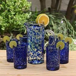 Set of 6 Marine Drinking Glasses (Mexico)