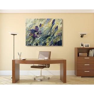 Karen Silve 'Aura II' Canvas Art