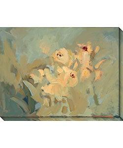 Karen Wilkerson 'Embrace II' Canvas Art