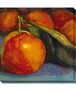 Sylvia Angeli 'Orange Glow' Canvas Art
