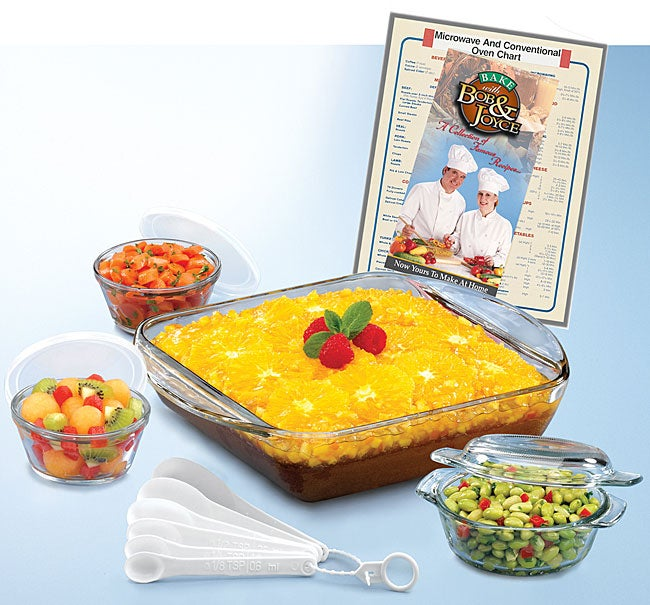 15-piece Anchor Hocking Expressions Glass Ovenware Set