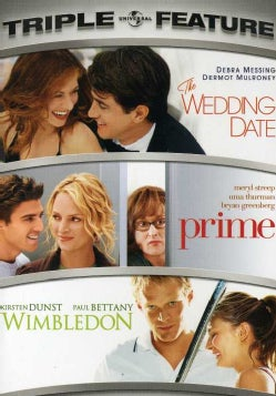 Wedding Date/Prime/Wimbledon (DVD)
