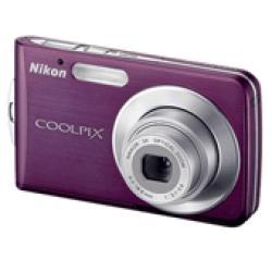 Nikon Coolpix S210 8.1MP Plum Digital Camera (Refurbished)