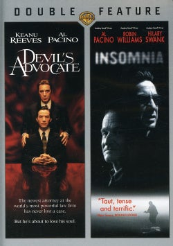 The Devil's Advocate/Insomnia (DVD)