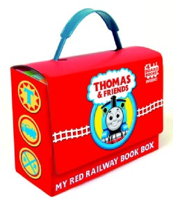 My Red Railway Book Box (Board book)
