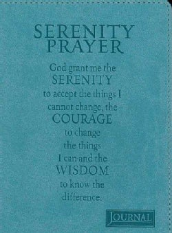 Serenity Prayer Journal (Notebook / blank book)