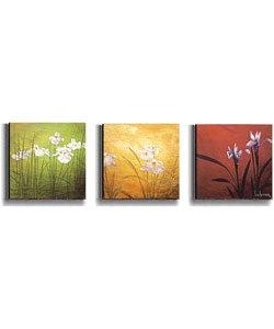 Karma by Don Li-Leger 3-pc Stretched Canvas Set