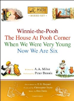 A.A. Milne's Pooh Classics: Winnie-the-pooh/ the House at Pooh Corner/ When We Were Very Young/ Now We Are Six (CD-Audio)