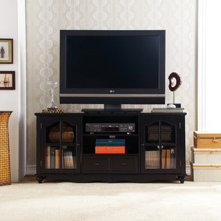 Hanover Black Media Cabinet
