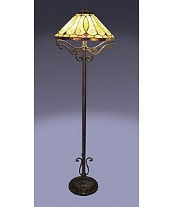 Tiffany-style Arroyo Floor Lamp