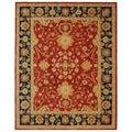 Safavieh Handmade Oushak Traditional Red Wool Rug (8' x 10')