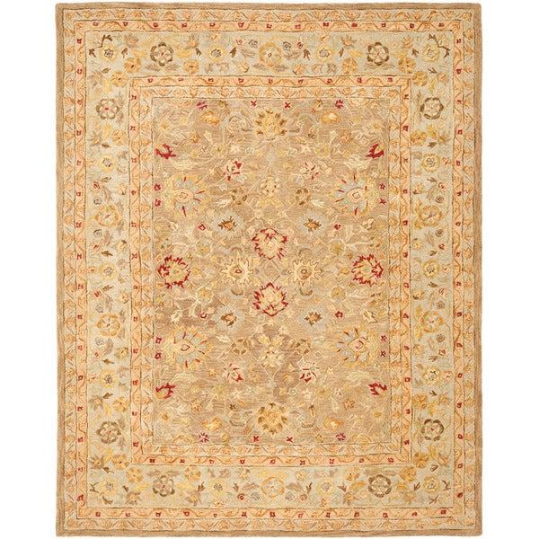 Safavieh Handmade Ancestry Tan/ Ivory Wool Rug (9'6 x 13'6)